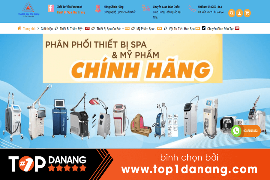 TOP1 Địa Chỉ Phân Phối Máy Soi Da Đà Nẵng Chính Hãng